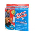 Potty Fisher Toilet Vissen